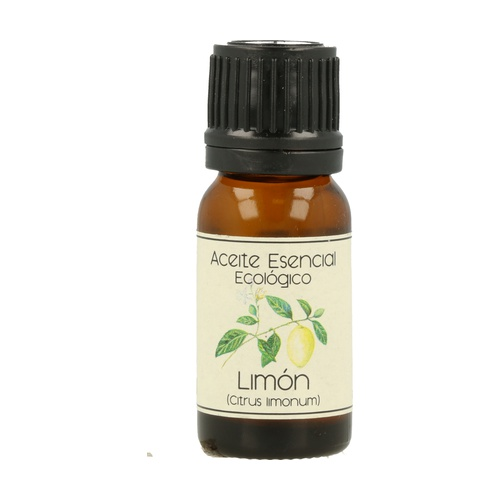 Aceite Esencial Bio de Limón Frasco Gotero de aceite esencial de 12 ml de Labiatae