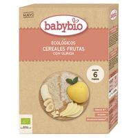 Papillas Babybio Fruta & Quinoa 6m+