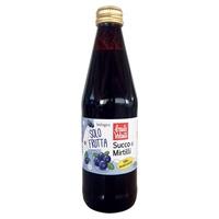 Pure juice of wild blueberries