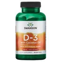 Ultra Vitamine D3 avec huile de coco 2000 UI