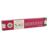 Incienso Golden Nag Meditacion