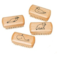 Beech Wood Kids Nail Brush
