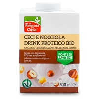 Chickpea Protein Drink With Hazelnut