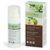 Gel de crema facial purificante de flores de manzana y limón
