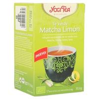 Té verde, matcha y limón