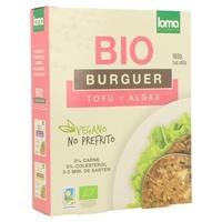 Hamburguesa Vegetal de Tofu y Algas Bio