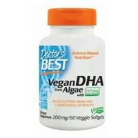 DHA vegano dalle alghe, 200 mg