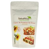 Copos de proteína de girasol