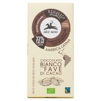 Chocolat blanc avec fèves de cacao