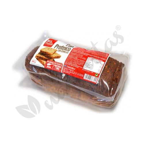 Pan Protéico con Semillas. KL Protein 365 gramos de Ynsadiet