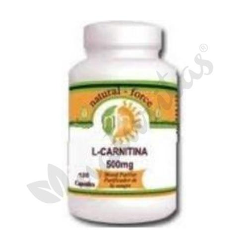 L-Carnitina 120 comprimidos de 500 mg de Nutri-Force