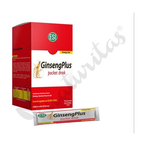 Ginseng plus pocket drink