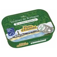 Brittany sardines with organic seaweed tartare