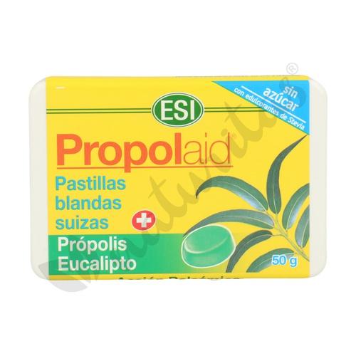 Propolaid Pastillas blandas suizas de própolis y eucalipto