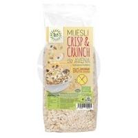 Muesli Crisp&Crunch de Avena Bio Sin Gluten