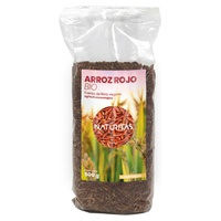 Red rice from organic farming