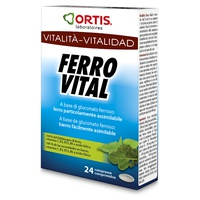 Ferro Vital Vitalité Multivitamines Programme 24 jours