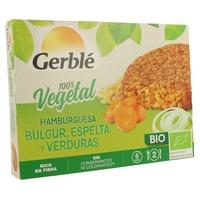 Hamburguesa Bulgur y Espelta con Verduras