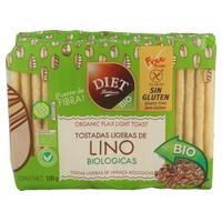 Tostadas Ligeras de Lino Bio