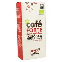 Café forte molido Comercio justo