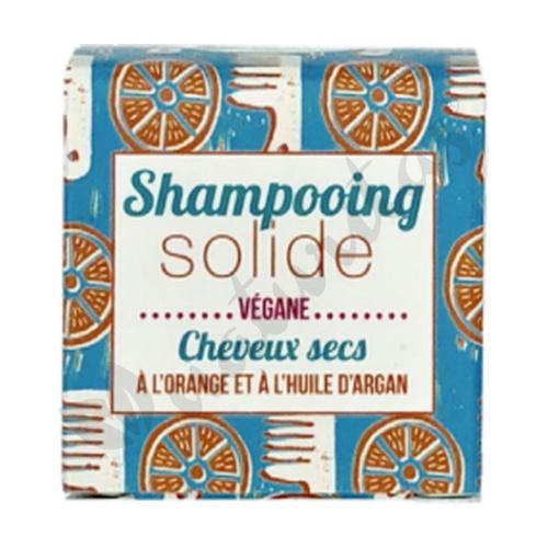 Champú sólido cabellos secos con naranja