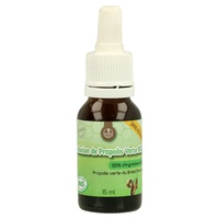 Organic propolis solution without alcohol
