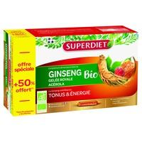Żeń-szeń Acerola Organiczna mleczko pszczele + 50% gratis