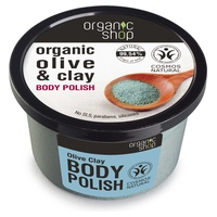 Organic Olive and Clay Body Polish