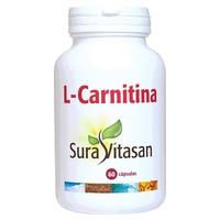 L-Carnitina 60 cápsulas 500 mg de Sura Vitasan