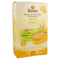 Gluten-free and milk-free Millet porridge - after 4 months