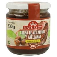 Crema de Algarroba y Avellanas
