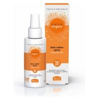 Vogliadisole Respect - Spray Lait Solaire Hydratant Velouté Haute Protection SPF 30 Visage Et Corps