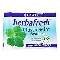 Pastillas de menta Herbafresh