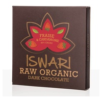 Comprimido Chocolat Cru - FRAISE & CARDAMOME - 75g