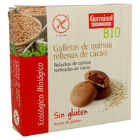 Galletas de Quinoa Rellenas de Cacao