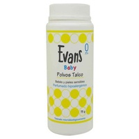 Evans Baby Polvos Talco