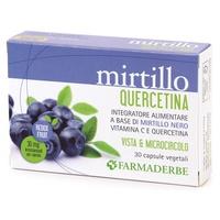 MIRTILLO QUERCETINA 30CPS