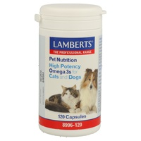 Pet Nutrition Omega-3 for cats and dogs