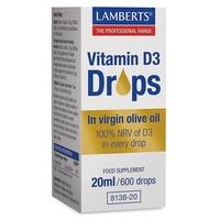 Vitamine D3 (gouttes)