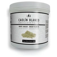 Kaolinowa biała glinka