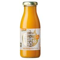Zumo de Manzana, Mango y Cúrcuma Bio