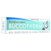 Buccotherm dentrifrices frutas rojo bio
