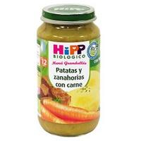Tarritos de Patatas, Zanahorias y Carne Bio