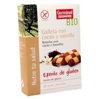 Galleta de Cacao y Vainilla Bio sin Gluten