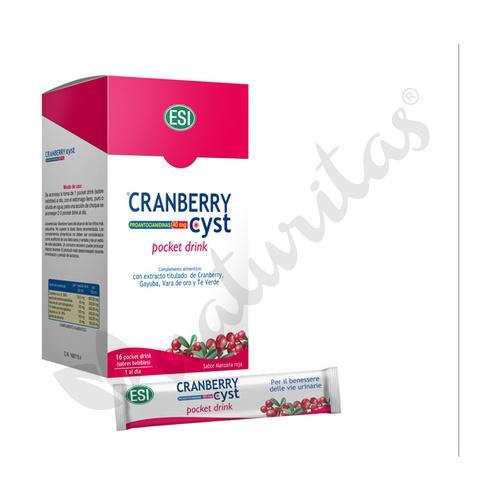 Cranberry cyst pocket drink