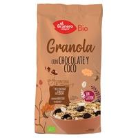 Granola with Chocolate and Coconut Gluten Free Bio