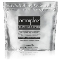 2-in-1 blue bleaching powder omniplex strength and protection