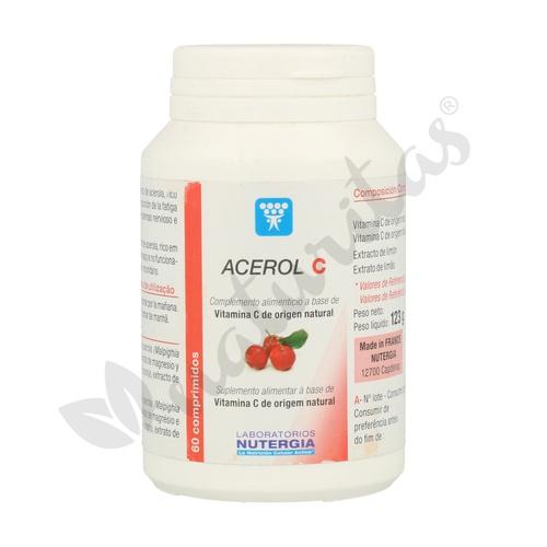 Acerol C 60 comprimidos de Nutergia