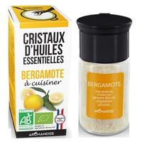 Cristalli di olio essenziale di bergamotto