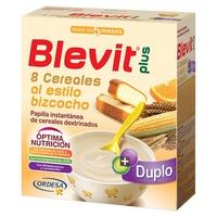 Blevit Plus Duplo 8 Biscuit Style Płatki 5m +